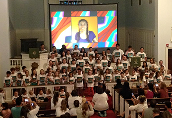 A Year in the Life of Our Church-Vacation Bible School